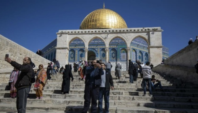 На Храмовій горі у Єрусалимі горіла мечеть