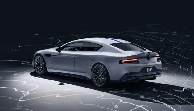 Aston Martin представив перший електрокар: він долає 320 кілометрів без зарядки