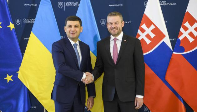 Ministerpräsident Hrojsman: Ukraine garantiert sicheren Gastransit nach Europa