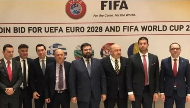 Футбол: Сербія, Греція, Болгарія та Румунія хочуть спільно провести ЧЄ-2028 і ЧС-2030