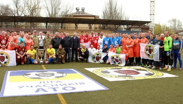 У Маріуполі стартувала футбольна Ліга учасників АТО у дивізіоні «Схід»