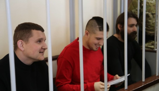 Московський суд продовжив арешт на три місяці ще чотирьом українським морякам
