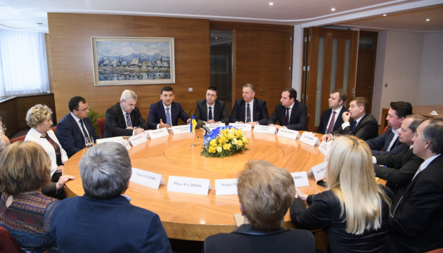 Гройсман зустрівся з українською діаспорою Словаччини