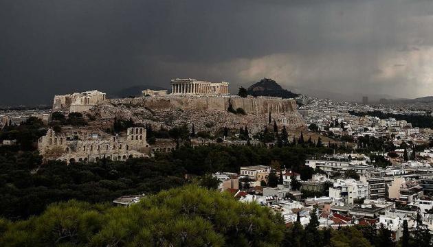 Блискавка влучила в афінський Акрополь, є постраждалі