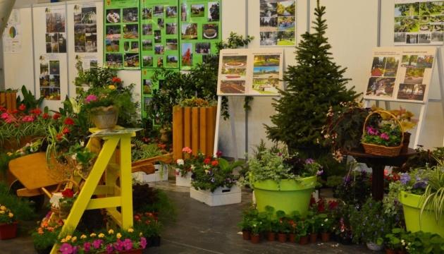 Київзеленбуд на міжнародній виставці показав, як озеленює столичні парки