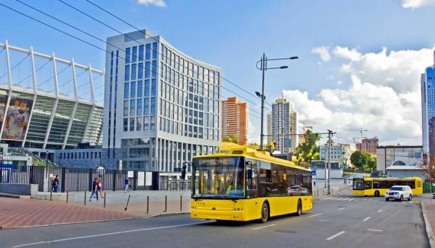 """Громадський транспорт змінить маршрути через дебати на """"Олімпійському"""""""