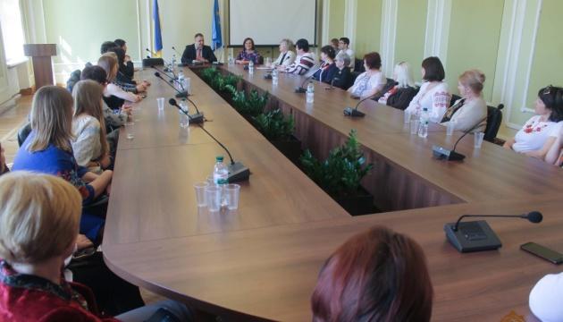 Освітяни з Луганщини приїхали до Львова в рамках спільної програми двох областей