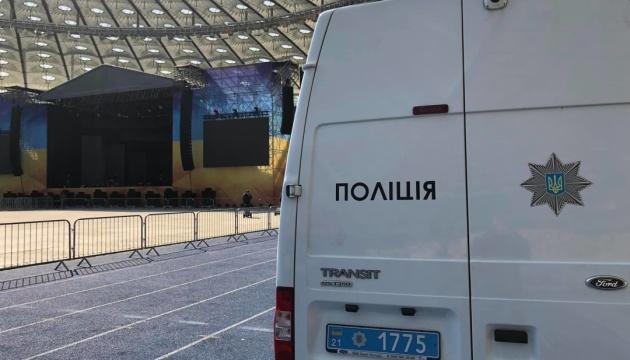Полиция разобрала одну из сцен Порошенко на «Олимпийском»