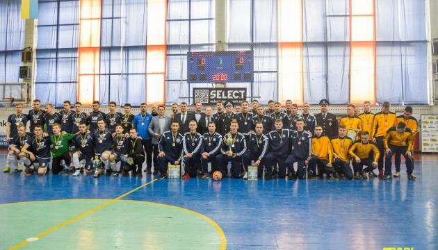 Студенты НПУ имени Драгоманова выиграли Кубок Киева по футзалу