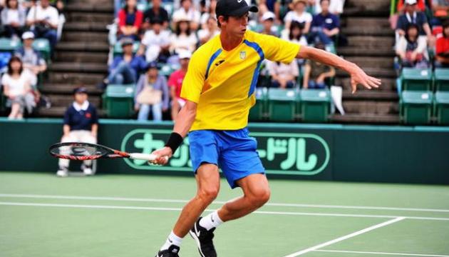 Теніс: українець Калениченко вийшов до півфіналу турніру в Нігерії