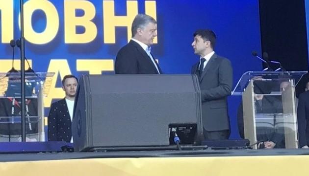 Arranca el debate de los candidatos a la presidencia de Ucrania en el