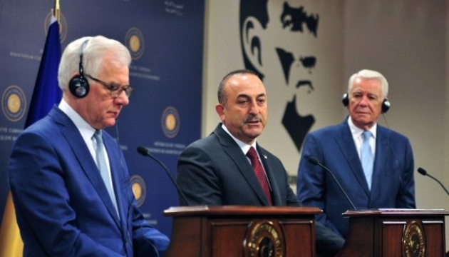 Глави МЗС Туреччини, Польщі та Румунії - за вступ України до НАТО