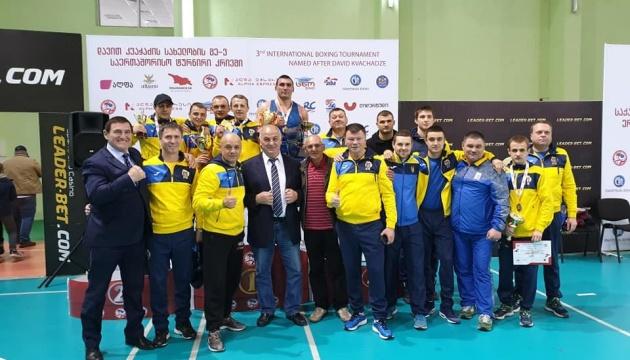Українські боксери вибороли 6 нагород на міжнародному турнірі в Тбілісі
