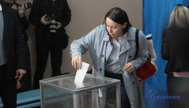 Явка виборців на 194 округах - 18,04%