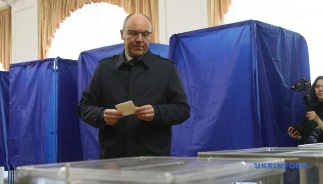 Парубій проголосував на виборах