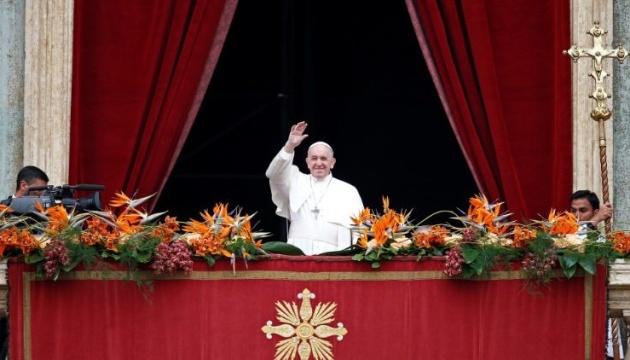 Папа Римський підтримав заклик ООН негайно припинити бойові дії у світі
