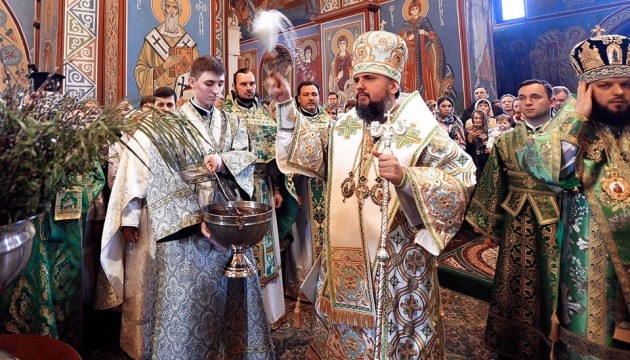 Православна Церква України вперше провела літургію з сурдоперекладом