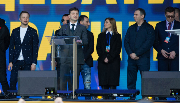 Zelensky has won election because voters in Ukraine are tired of old politicians - Politico