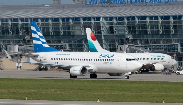 Ellinair increases frequency of flights from Lviv to Thessaloniki and Heraklion