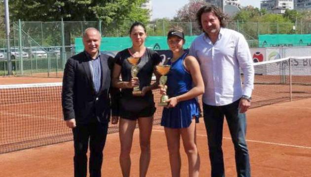 Виктория Петренко завоевала парный титул на юниорском турнире ITF в Пловдиве