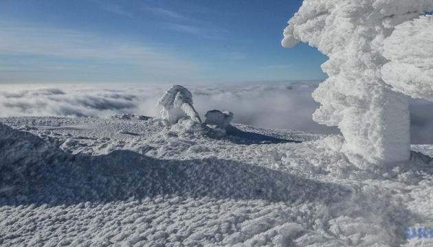 Avalanche risk expected in Ukraine's Carpathian mountains