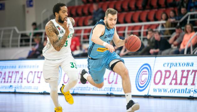"""Баскетбол: """"Дніпро"""" зрівняв рахунок із """"Запоріжжям"""" у битві за """"бронзу"""" Суперліги"""