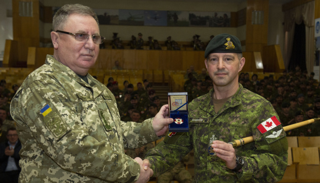 Canada wants to expand training of Ukrainian military personnel