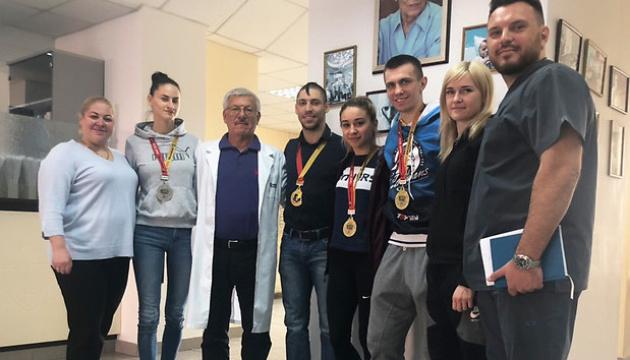 Збірна України з карате приєдналася до програми НОК України з медичного обстеження