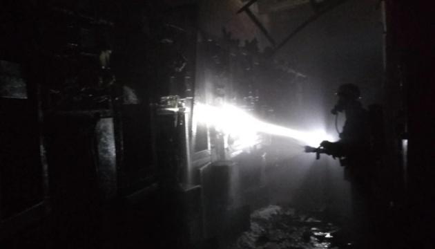 У Краматорську горів феросплавний завод