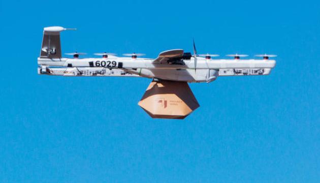 Компанія WIng першою в США отримала ліцензію на доставку дронами