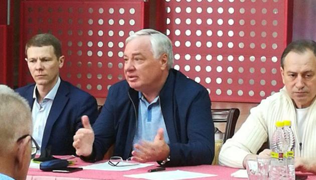 Бринзак вперше озвучив кандидатуру на посаду президента Федерації біатлону України