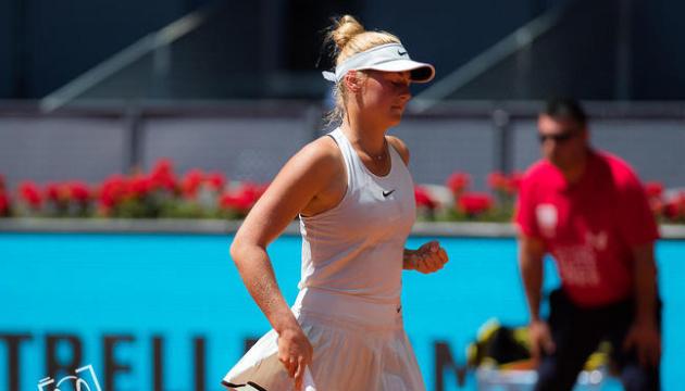 Марта Костюк із перемоги стартувала на турнірі ITF W25 у К'яссо