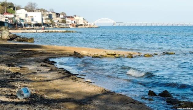 В Керчи разрушили один из старейших пляжей