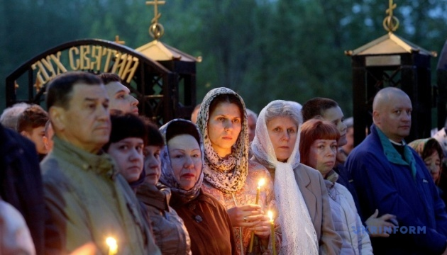 【写真】ウクライナ各地の復活祭の様子