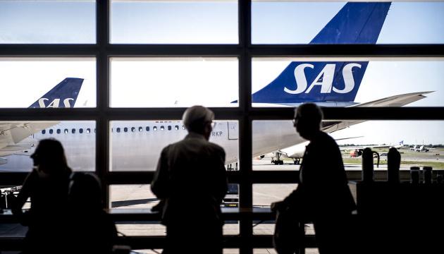 Пилоты скандинавской авиакомпании SAS срывают планы 110 тысяч пассажиров