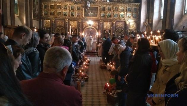 Сотні українців Австрії взяли участь у великодніх богослужіннях