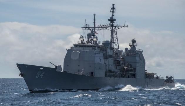 Два військові кораблі США пройшли через Тайванську протоку