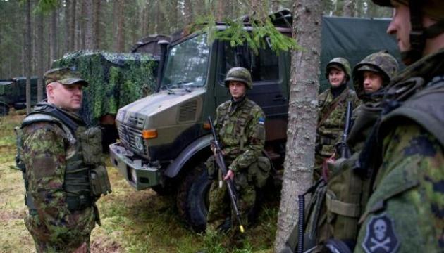 В Естонії стартують військові навчання НАТО за участю України