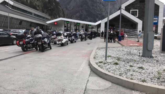 Грузия закрыла границу для российских байкеров до 10 мая