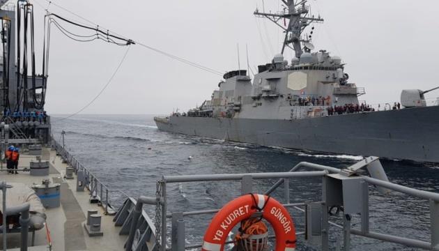 Туреччина і США провели навчання у Чорному морі