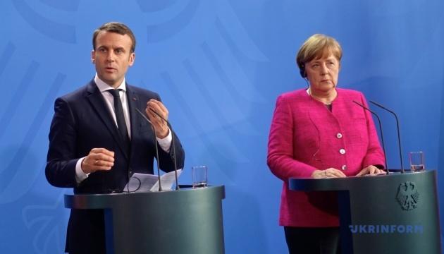 Меркель і Макрон обговорять «сильну Європу»