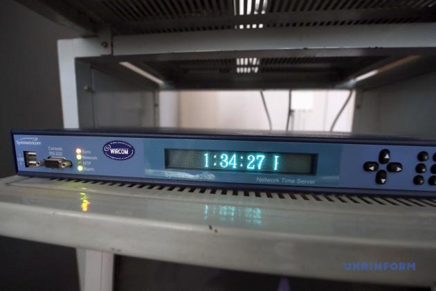 NTP-сервер эталона времени