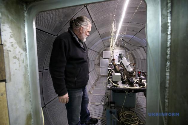 Ученый-хранитель эталона длины Сергей Ковшов