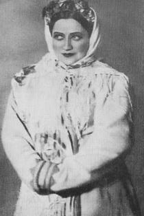 У ролі Оксани в опері «Ніч перед Різдвом» Николи Римського-Корсакова