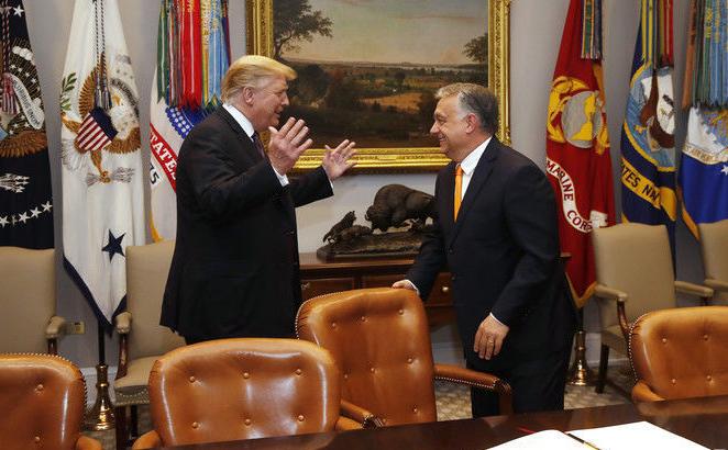 Трамп, Орбан / Фото: EPA