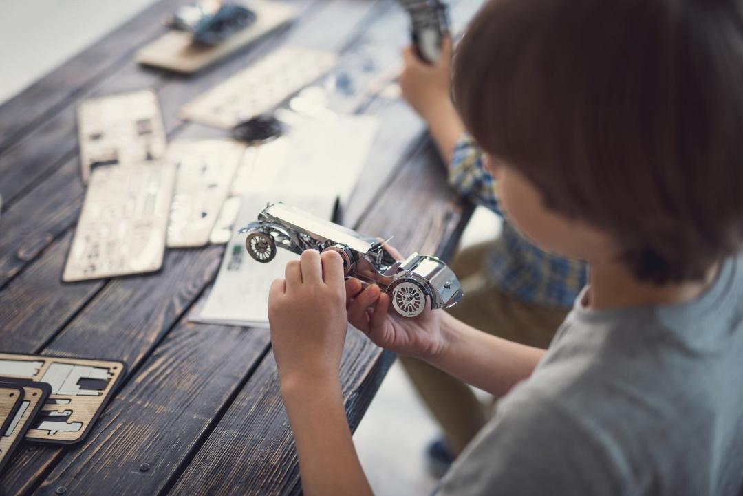 Мініатюрна модель авто, розроблена українською компанією Time 4 Machine