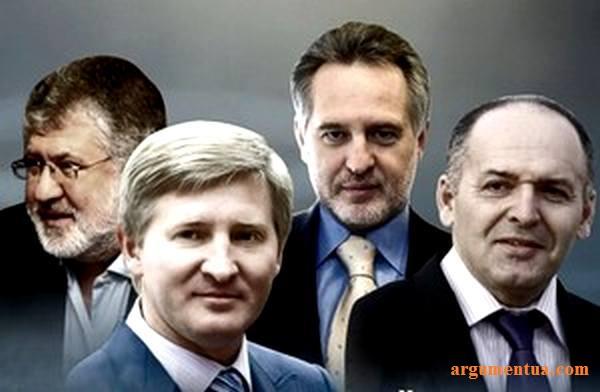 Kołomojski, Achmetow, Firtasz, Pinczuk