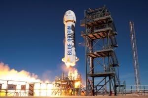 У США вдруге пройшла випробування ракета для космічного туризму