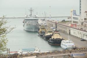 Brytyjski statek hydrograficzny ECHO, przybył do Odessy ZDJĘCIE