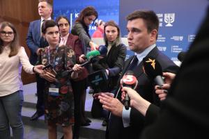 Клімкін привітав Зеленського з початком президентства